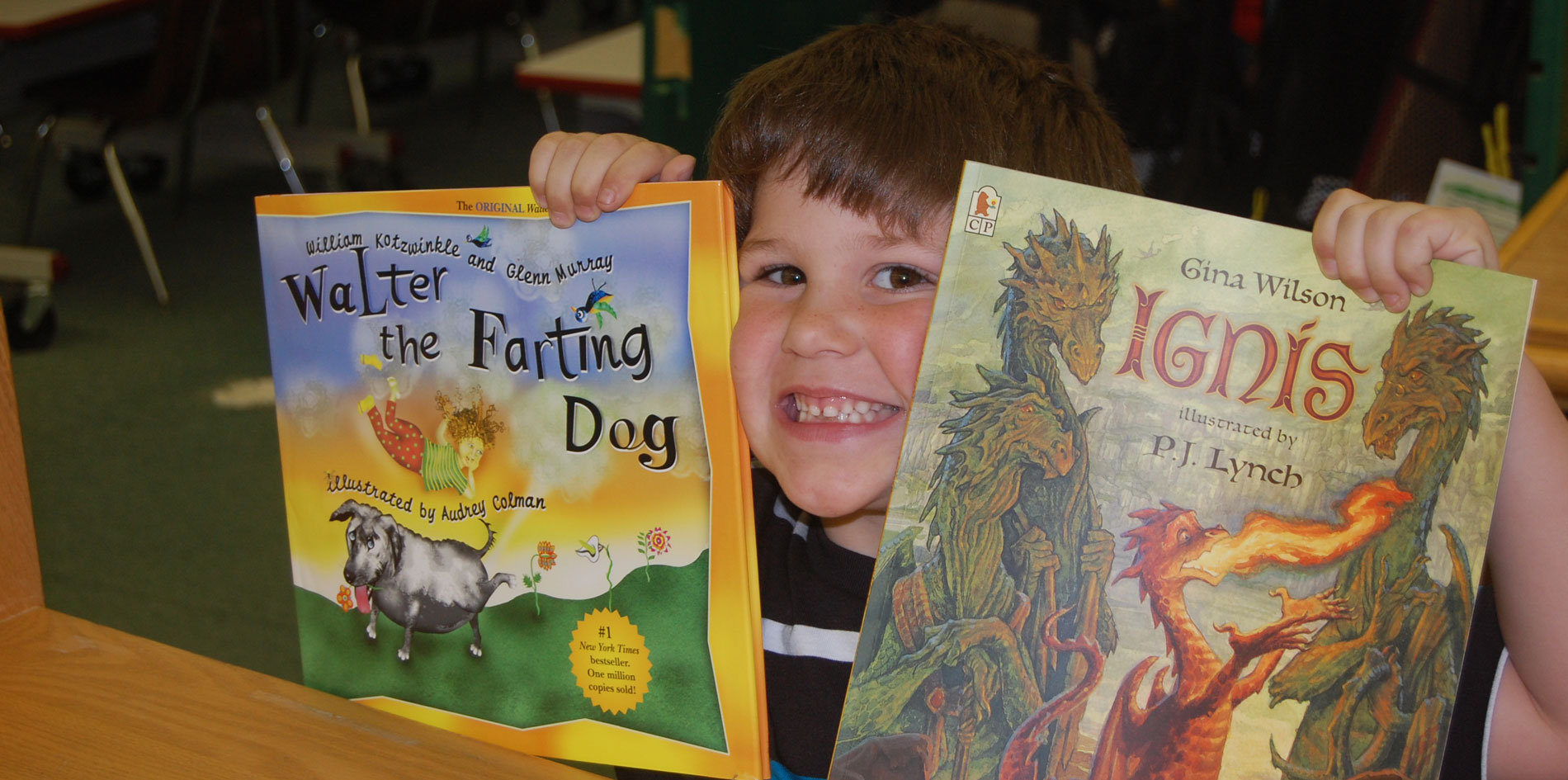 We are Changing Kid's Lives – one book at a time.